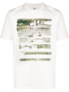 T-shirt CP COMPANY Blanc
